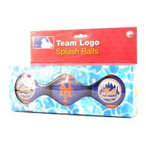 Blowout - New York Mets Toys - 3Pack Splash Ball Sets - 4 Sets For $10.00