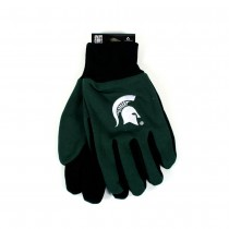 Michigan State Spartans Gloves - The Black Palm Series - 12 Pair For $36.00