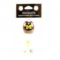 Michigan Wolverines Merchandise - Ceramic Bottle Stoppers - 12 For $30.00