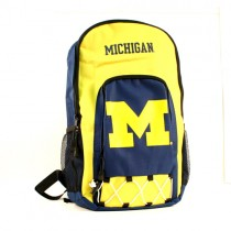Michigan Wolverines Backpacks - Echo Bungi Style - 6 For $84.00