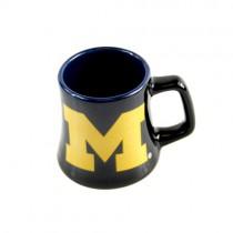Michigan Wolverines Mini Mugs - SERIES2 -Ceramic 2OZShot Mugs - 12 For $36.00