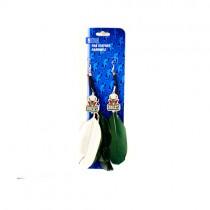 Milwaukee Bucks Earrings - Feather Dangle Style - $2.75 Per Pair