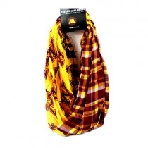 Minnesota Gophers Scarves - Tartan Logo Infinity Scarves - 12 For $60.00