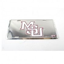 Mississippi State License Plate - Metal MSU Logo Style - 12 For $22.00