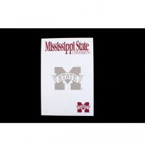 "Mississippi State Notepads - 5""x8"" - 40 Sheets Per Pad - 24 Pads For $12.00"