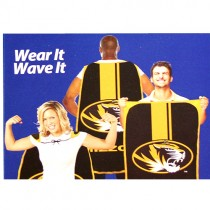 """Missouri Tigers Flags - 32""""x47"""" Fan Flags - 2 Flags For $15.00"""