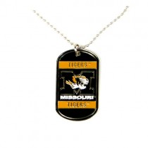 Missouri Tigers Necklaces - Heavyweight Dog-Tags - 12 Dogtags For $39.00