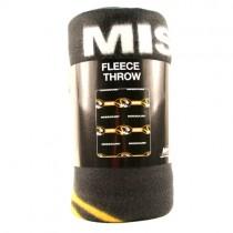 "Missouri Tigers Blankets - 50""x60"" Fleece - 3Bar Style - $9.50 Each"