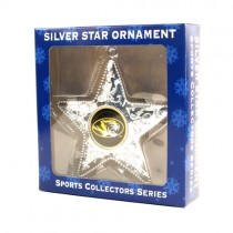 Missouri Tigers Ornaments - Silver Star Style - 12 For $30.00