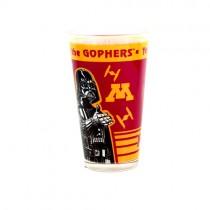 Minnesota Gophers Glass Pints - 16OZ Dual Logo With Star Wars - 12 For $24.00