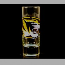 Missouri Tigers Shot Glasses - 2OZ Cordial HYPE Style - (Pattern May Be Different Than Pictured) - $2.50 Each