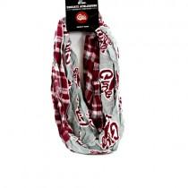 Montana Grizzlies Scarves - Tartan Logo Infinity Scarves - 2 For $15.00
