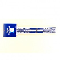 Total Blowout - Montana State - 3Pack Elastic Headbands - 12 Packs For $12.00