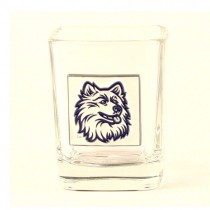 UCONN Huskies Merchandise - Plate Style Square Shooter - 12 For $24.00