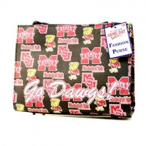 Mississippi State Purses - Go Dawgs - Bling Style Repeater Purses - 2 For $15.00