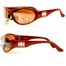 Total Overstock - Mississippi State Sunglasses - Red SOLID Style Sunglasses - 12 Pair For $36.00