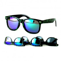 #MU100 - Retro Wear Style Leaf Sunglasses - 12 Pair For $24.00