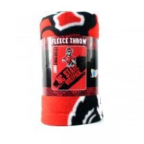 """NC State Wolfpack Blankets - 50""""x60"""" Fleece - Painted Style - $9.50 Each"""