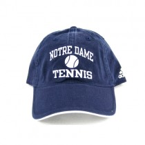 University Of Notre Dame Caps - Blue Hat With Tennis Logo - 2 For $10.00