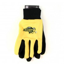 North Dakota State University Gloves - (Pattern May Be Different Than Pictured) - The Black Palm Series - 12 Pair For $36.00