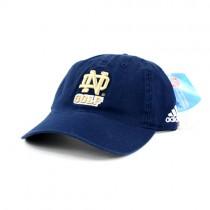 Notre Dame Caps - Blue Notre Dame Golf Caps - Adidas Caps - 2 For $10.00