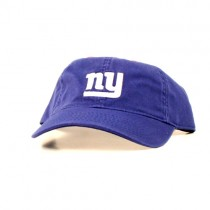 New York Giants Caps - Blue NY Logo Slouch Caps - $6.50 Each