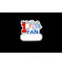 NASCAR - #1 Fan Magnets - 24 For $12.00