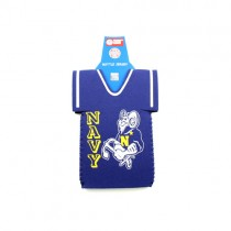 Blowout - Navy Bottle Huggies - Blue Jersey Style - 24 For $12.00