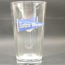 Notre Dame Pints - 16OZ Pint Glasses - Pennant Logo - 4 Pints For $20.00