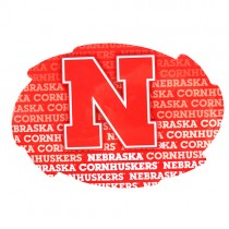 "Nebraska Huskers Magnets - 5"" Swirl Wordmark Style - 12 For $18.00"