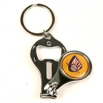 New Jersey Nets Keychains - 3in1 Wholesale Keychains 12 Keychains For $12.00