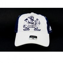 Notre Dame Hats - Classic White Womens Cap - Irish Bling Style - 2 For $10.00