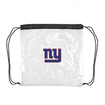 New York Giants Bags - Clear Cinch Sacks - 4 For $20.00