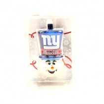 New York Giants Ornaments - Top Hat Snowman Style - 12 For $30.00