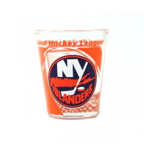 New York Islanders Shot Glasses - Hi-Def Style - Classic Shotglasses - 12 For $30.00
