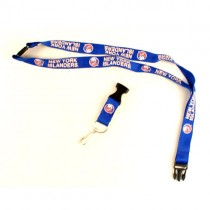 New York Islanders Lanyard - (Pattern May Be Different Than Pictured) - With Neck Release - $2.50 Each