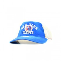 New York Giants Caps - Women's Throwback Logo - Blue With White Mesh - 12 For $60.00
