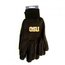 Overstock - Oregon State Gloves - OSU Logo - Black/Orange Grip Gloves - 12 Pair For $30.00