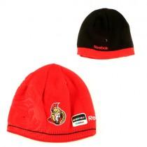 Ottawa Senators Beanies - Reversible Red With Flipside Black - $8.50 Each