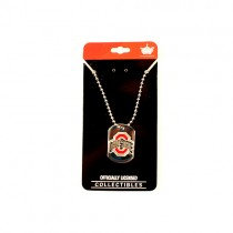 Ohio State Dog Tags - Series5 - The Flatliner Metal Chain Style - 12 For $36.00
