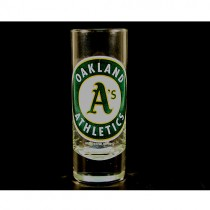 Oakland Athletics Shot Glasses - (Pattern May Be Different Than Pictured) - 2OZ Cordial HYPE - $2.50 Each