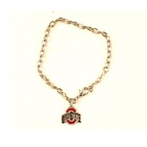Blowout - Ohio State Bracelets - CHAIN Link Style - 12 For $24.00