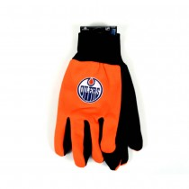 Edmonton Oilers Gloves - The Black Palm Series - 12 Pair For $36.00