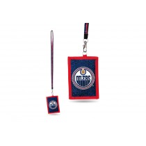 Edmonton Oilers Bling - Bling Lanyard With ID Holder - 12 For $30.00