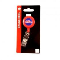Ole Miss Merchandise - Retractable Badge Reels - 12 For $18.00
