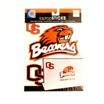 Oregon State Decals - Removable Laptop Sticks - $2.50 Each