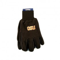 Overstock - Oregon State Gloves - Black - Text OSU Style Logo - 12 Pair For $30.00