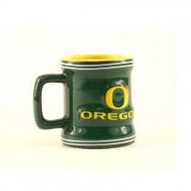 Oregon Ducks Shotglasses - 2.50OZ ShotMugs (Pattern May Be Different Than Pictured) - 12 ShotMugs For $39.00
