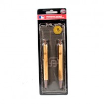 San Diego Padres Pens - 2Pack Set Wood Engraved Pens With Case - 12 Sets For $24.00