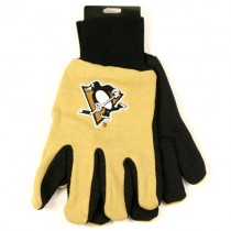Overstock - Pittsburgh Penguins Gloves - (Pattern May Be Different Than Pictured) - 12 Pair For $30.00